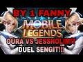 BY 1 FANNY!!! OURA VS JESSNOLIMIT DUEL MAUT MOBILE LEGEND BANG BANG.