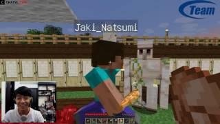 Minecraft coop (w/Jaki)-Ghé thăm nhà Jaki (Youtuber Cris Devil Gamer)