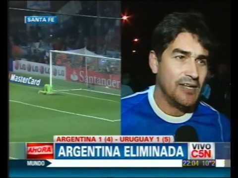 C5N - DEPORTES: ARGENTINA ELIMINADA DE LA COPA AMERICA [HINCHAS]