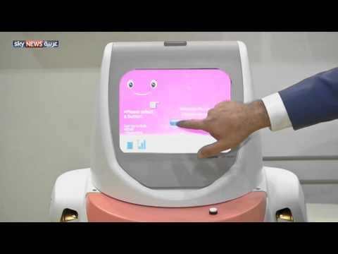 روبوت يساعد في الفحوصات الطبية
