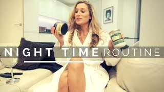 MY NIGHT TIME ROUTINE FOR CLEAR SKIN! | Amina Maz