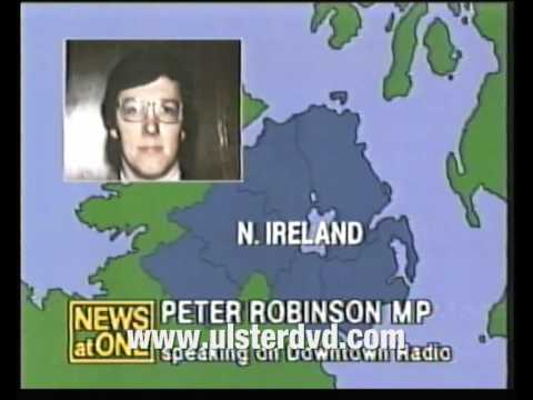 PETER ROBINSON ARRESTED WHEN ULSTER LOYALISTS INVADE IRISH REPUBLIC 1986 DUNDALK Part 1