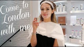 Vlogmas! Day in London, PR unboxing, house renovation update | Christmas vlog