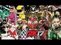 POWER RANGERS | Royal Rumble WWE 2K17