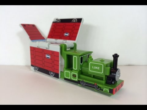 thomas  friends toy train luke building kit  lego youtube