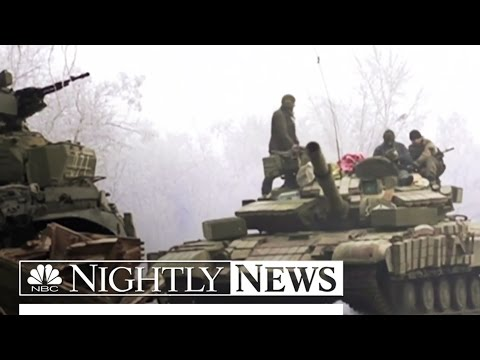 Ukraine Conflict Reignites U.S. Considers Sending Arms | NBC Nightly News