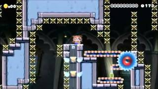 Super Mario Maker - Trampoline of Torment: Ultima by byrz
