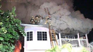 LAFD / New Hampshire Avenue House Fire / Pico-Union District