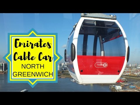 London Newsflash: Emirates Cable Car, North Greenwich | Travel Blog | Traveling