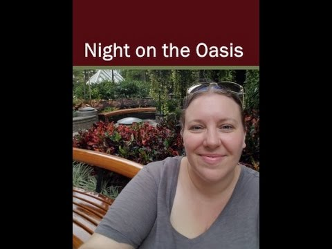 Evening Entertainment Night 1 Oasis of the Seas Cruise Vlog [ep5]
