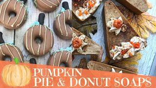Making Of Pumpkin Spice Donuts and Pie Cold Process Soap | 🥧 🎃 GYPSYFAE CREATIONS