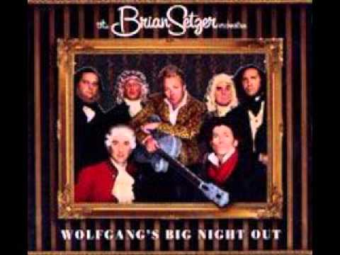 the brian setzer orchestra - one more night with you