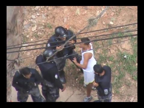 Operativo policial, en San Agustin del Sur.