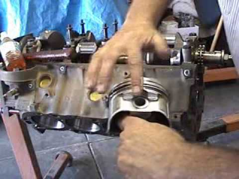 HOW TO BB 454 CHEVY ENGINE REBUILD PISTON & RINGS INSTALLATION ON DVD