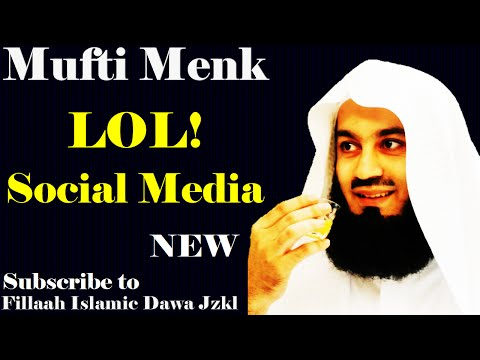 LOL! Social Media ~ Mufti Ismail Menk | Sri Lanka Tour 06 Dec 2014!!!