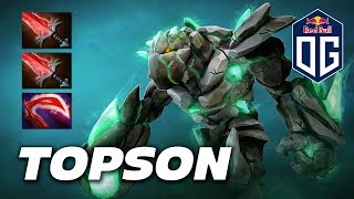 Topson Tiny - OG Team - Dota 2 Pro Gameplay