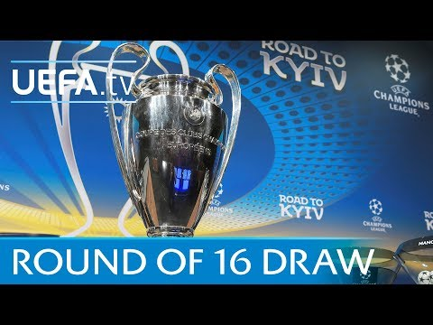 UEFA Champions League 2017/18 round of 16 draw MP3