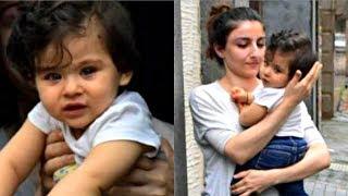 Soha Ali Khan Daughter Inaaya Cute Video