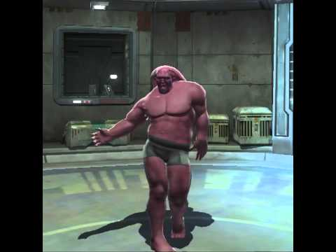 SWTOR: Male twi'lek doing female dance (closed beta)