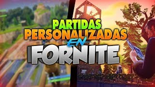 Jugando Partidas Privadas Fortnite Chile!!!