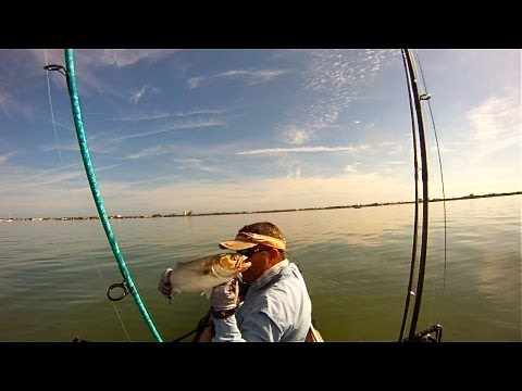 Kayak Fishing - Fort Pierce for Bluefish Ladyfish and Jacks - HD # 20 - Daniel Pierlet