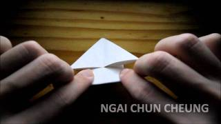 Origami Jumping Frog (tutorial)