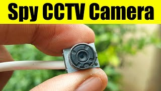 How To Make SPY Camera At Home | Homemade CCTV Camera