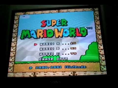 Mapa Completo Super Mario World Super Nintendo Super Mario World Snes Mapa