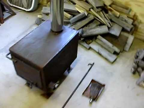 Homemade woodstove youtube for How to make a homemade stove