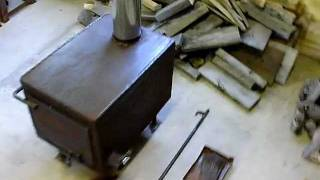 Homemade Woodstove