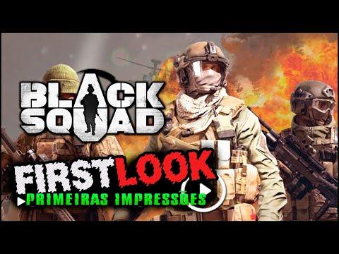 "Novo FPS! Black Squad + Keys | First Look ""Vale a pena jogar?"""