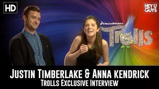 download lagu Justin Timberlake & Anna Kendrick - Trolls Exclusive Interview gratis