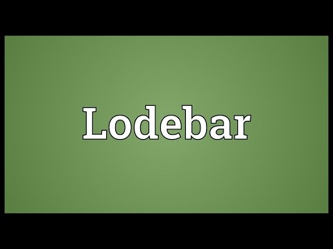 Header of lodebar