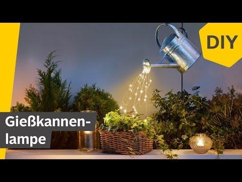 DIY: Lichtergießkanne für den Garten oder Balkon selber basteln | Roombeez – powered by OTTO