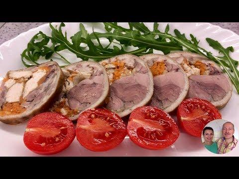 Вкуснейшая РУЛЬКА! Отличная замена колбасе!