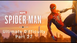Marvel's Spider-Man - Electro Vulture Boss Fight - Ultimate Difficulty Part 27 - PS4 Pro 60fps