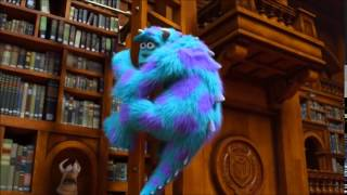 Monsters University Library Battle