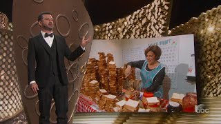 Jimmy Kimmel's Mom Makes PB&J for Emmys Aunce