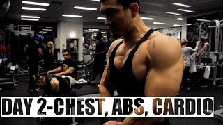 DAY 2- CHEST/ABS/CARDIO || ABSOLUTE MUSCLE 12 WEEK PROGRAM BY JEET SELAL [HINDI]