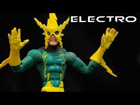 Marvel Legends ELECTRO Sinister Six Figure Review
