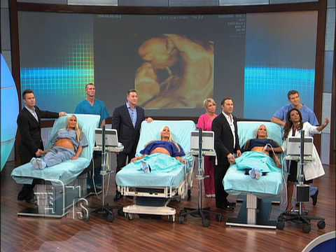 The Triplets  Ultrasound Surprise on  The Doctors