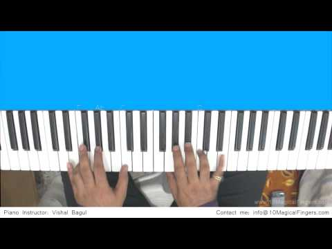 Tum Hi Ho (Aashique 2) Piano Tutorial by Vishal Bagul | Melody...