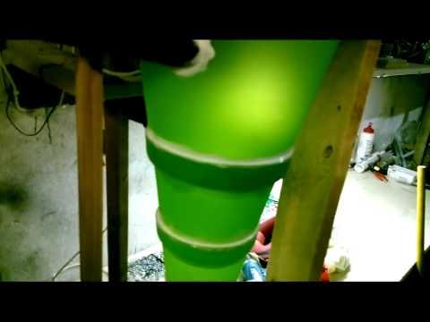 Циклон своими руками из подручных материалов видео