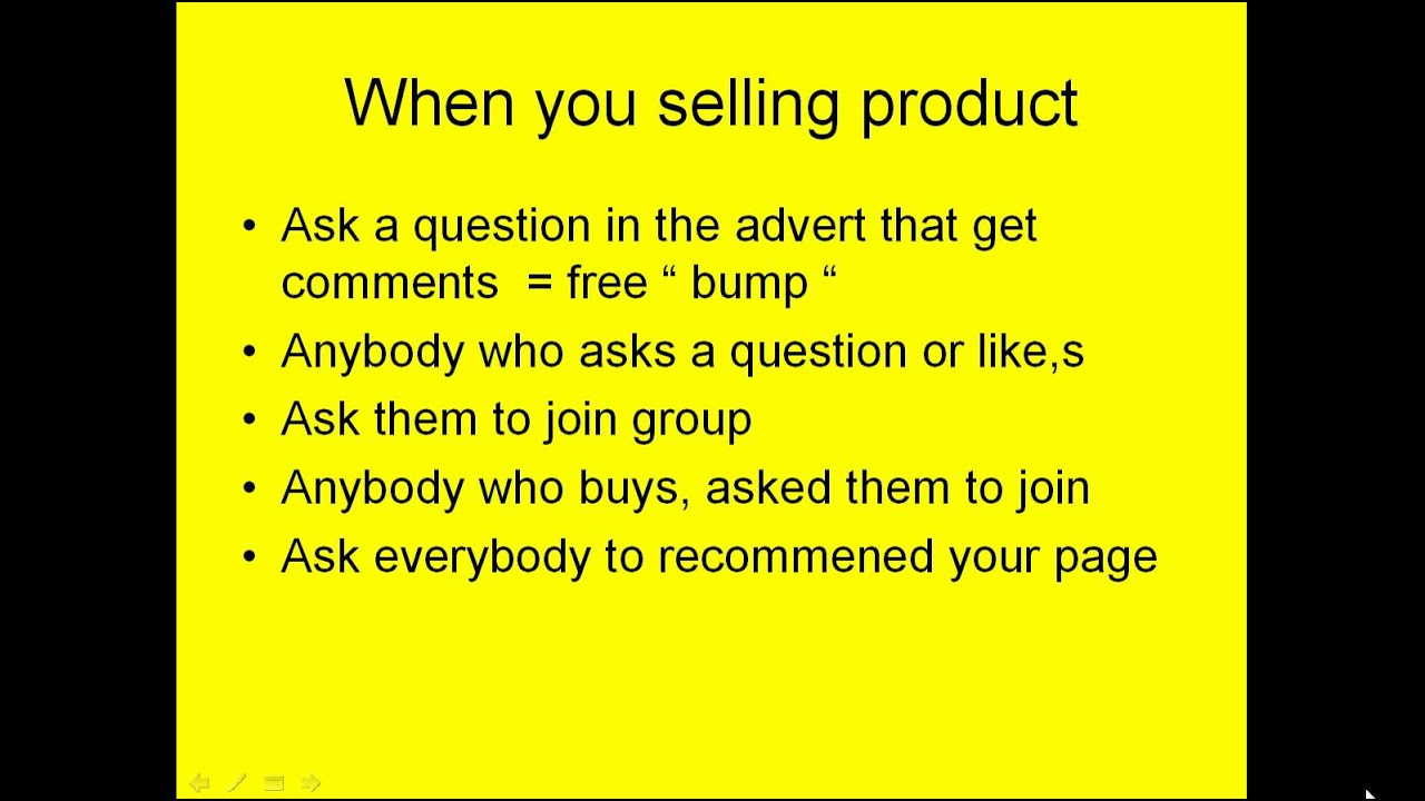 how to create a selling group on facebook
