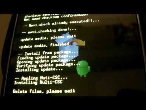 Samsung Vibrant 2.2 (Froyo) Update Installation