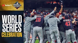 Washington Nationals 2019 World Series Trophy Ceremony and Celebration