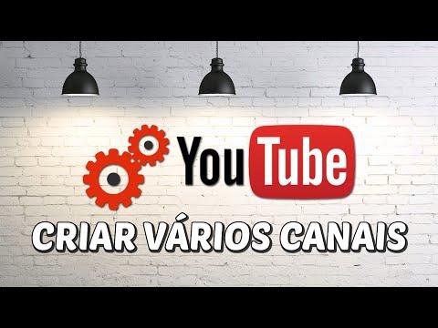 Como fazer vários canais com uma conta no Youtube thumbnail