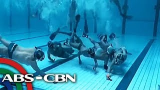 Underwater hockey starts to make waves in the Philippines   ANC