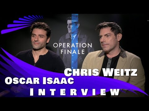 OPERATION FINALE - OSCAR ISAAC AND CHRIS WEITZ (DIRECTOR) INTERVIEW