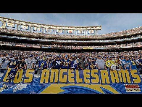 Trending Now: Which NFL team will end up moving to Los Angeles?